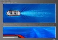 Webber Wave Pool Hull Testing Model