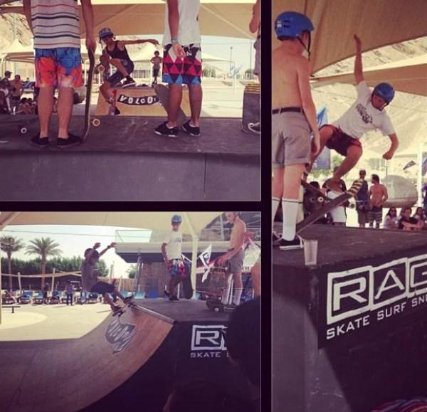 Rage Skaters | Volcom Surf & Skate Jam 2013