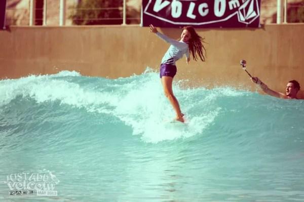 Soul Arch Surfer Girl | Volcom Surf & Skate Jam 2013 | Wadi Adventure Wave Pool