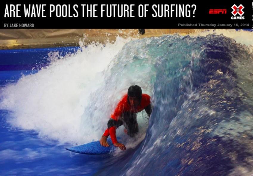 Future of Surfing | Jake Howard ESPN XGames | Surf Park Central