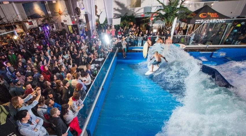 Jamie Obrien Oasis Open Surf Contest