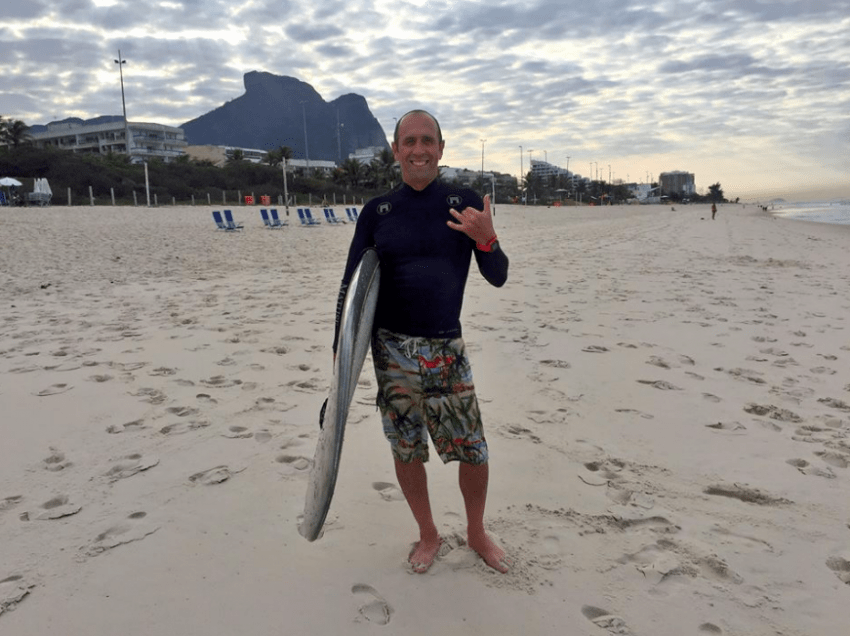 Olympic Surfing Official | Fernando Aguerre ISA President | Surf Park Central