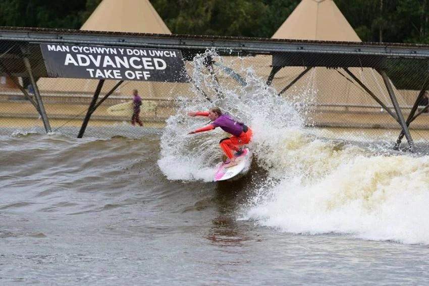 Emily Williams UK Pro Surf Tour | Surf Snowdonia | Surf Park Central