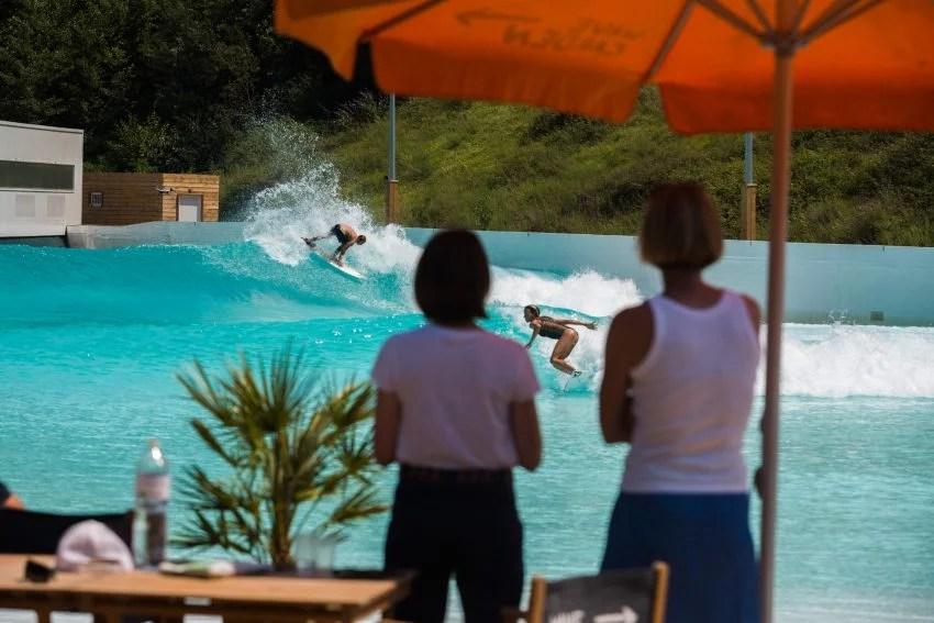Wavegarden Cove | French Pro Surfers | Maud le Car & Joan Duru Set | Image @Pacotwo | Surf Park Central