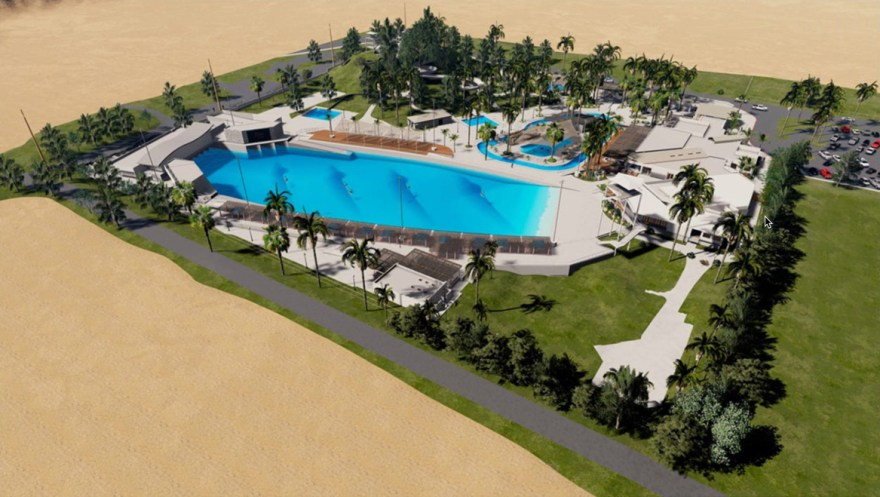 Palm SPrings Surf Club Render
