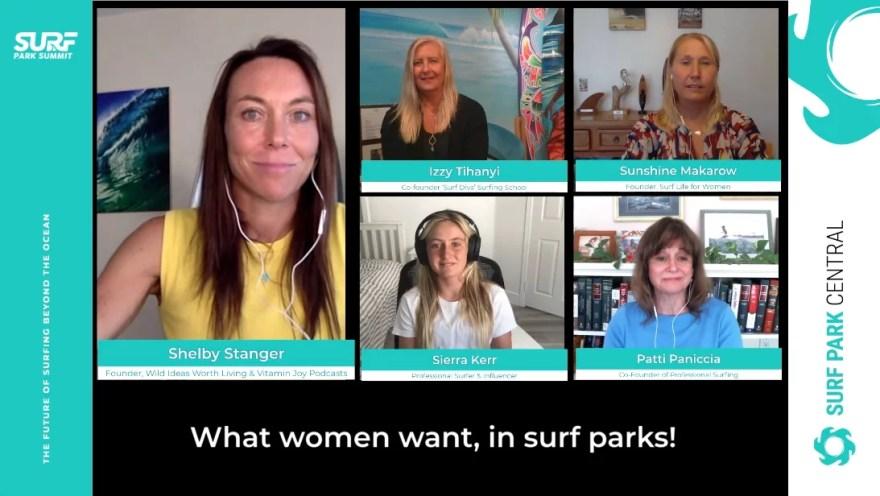 Women's Panel Surf Park Summit 2020