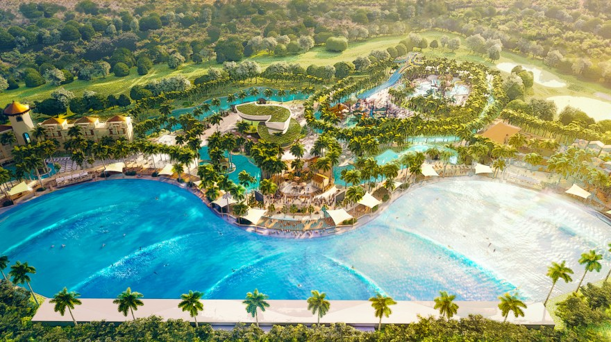 Overhead Development Rendering – Provided by Endless Surf