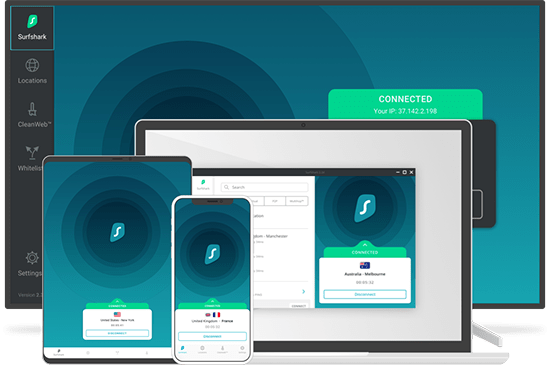 SurfShark VPN - Best VPN for TikTok