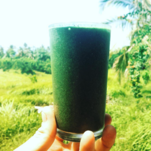 Green Radness. Tastes great, whole food fuel.