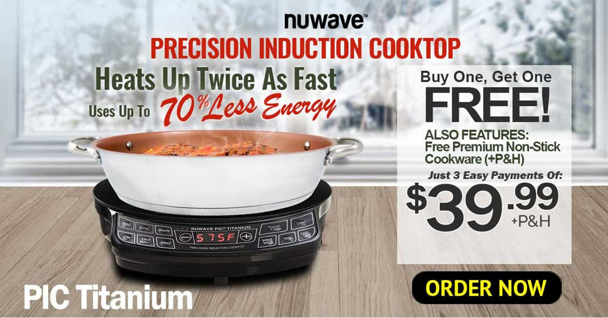 Nuwave Pic Titanium Induction Cooktop