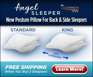 Copper Fit Posture Pillow