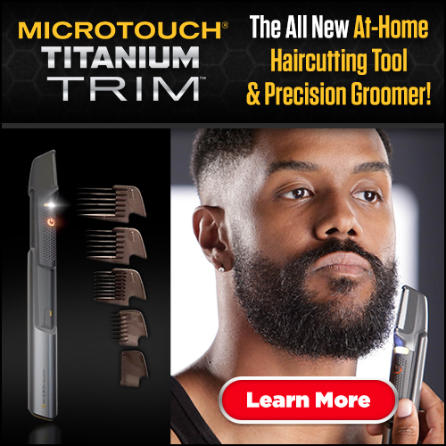 micro touch at home hair trimmer and groomer