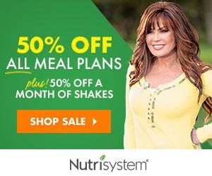 Nutrisystem 50% Off Meal Plans