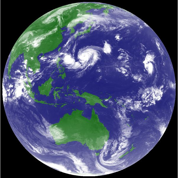 台風12号ハロラ