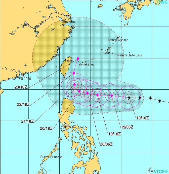 台風15号コーニー