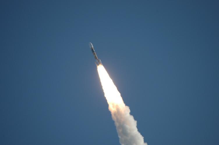 種子島ロケット打ち上げ