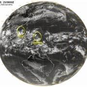 台風の卵発生