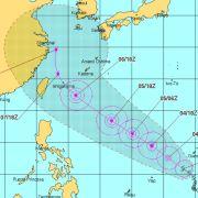 台風1号ニパルタック