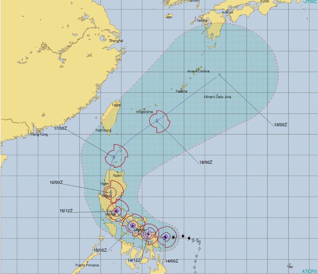 2020年台風1号