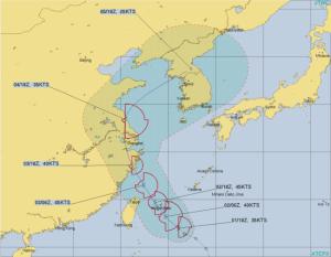 台風第4号 ハグピート