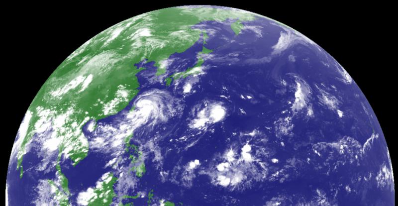台風8号バービー
