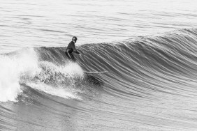 Phil finding the glide. Photo: Pfost