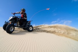 ATV-Turning-and-Throwing-Sand
