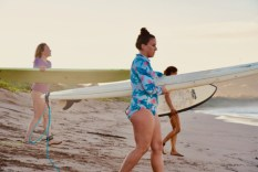 surf with amigas, learn to surf, womens surf yoga retreat