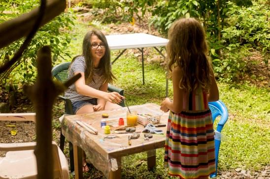 family retreat art cannon girls