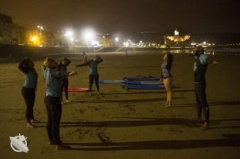 nocny surfing kanary