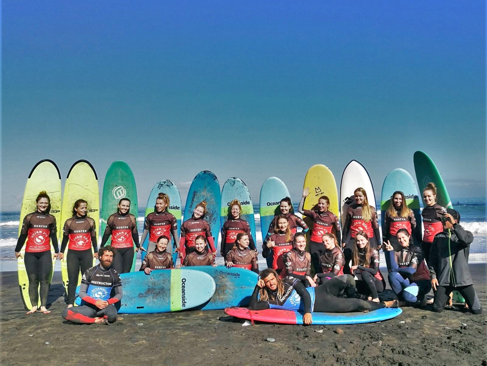 POLSKIE SURFERKI NA KANARACH
