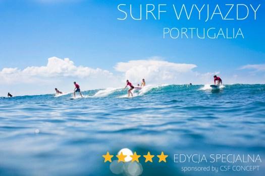 surf wyjazd portygalia