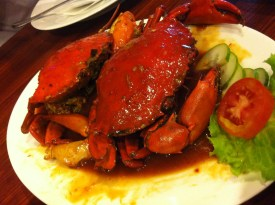 Kepiting Saus Mentega