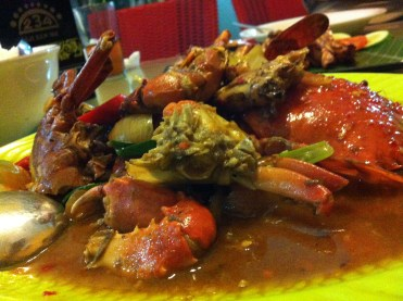 Kepiting Hot Lady