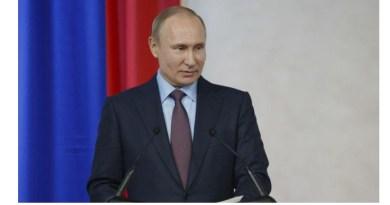 The presedent of Russia Vladimir Putin