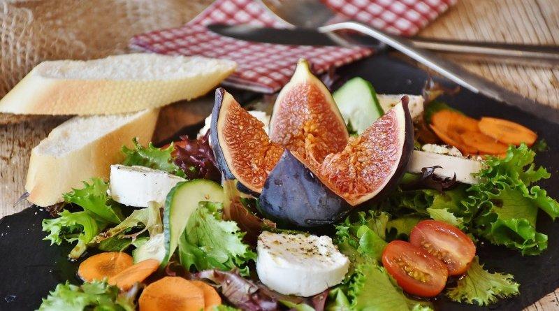 салат овощи инжир