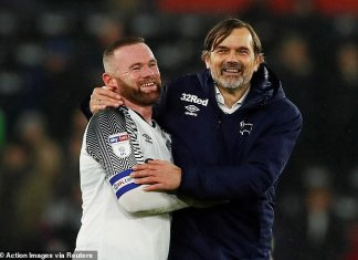 Derby County Manager Philip Cocu Hails Wayne Rooney's Debut Performance - SurgeZirc SA