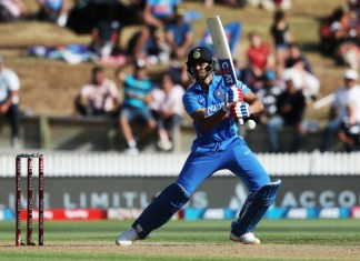 Photo showing India's Shreyas Iyer who Shined In First New Zealand ODI In Hamilton - SurgeZirc SA