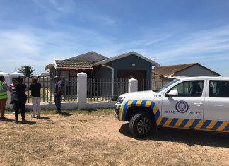 A mother and her six-year-old son are getting better in the hospital after they were shot and injured in their home in Booysens Park.