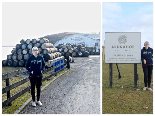 Visiting Bunnahabhain and stopping at soon to be opened Ardnahoe.
