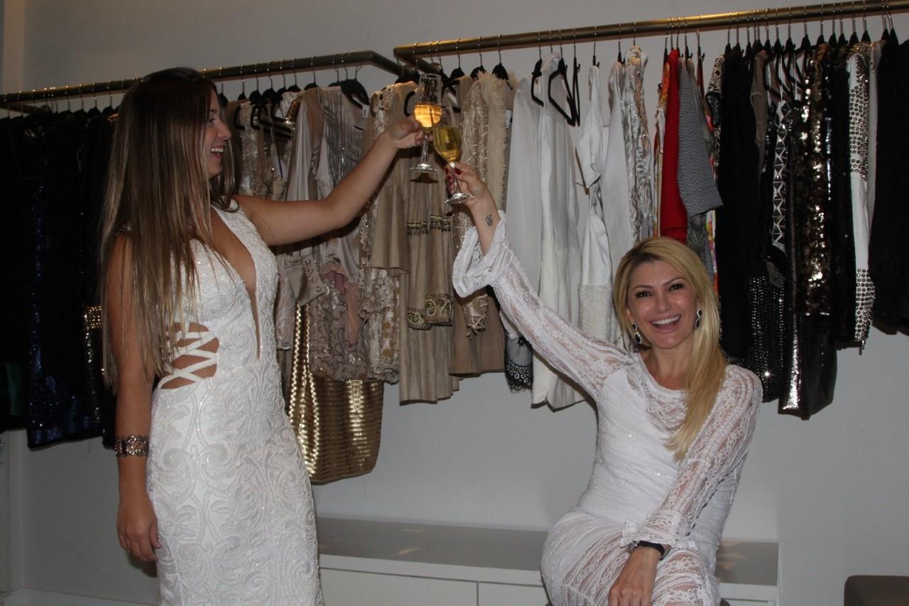 Antonia Fontenelle realizou um Bazzar em sua loja na Barra da Tijuca