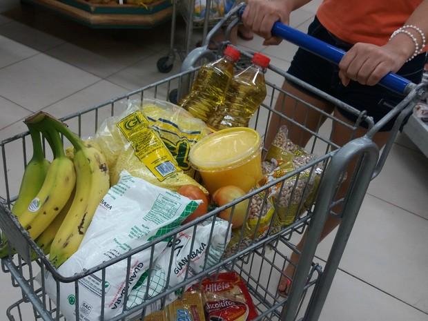 Pesquisa aponta que o preço médio da cesta básica em Paraíso do Tocantins se manteve no mês de Novembro