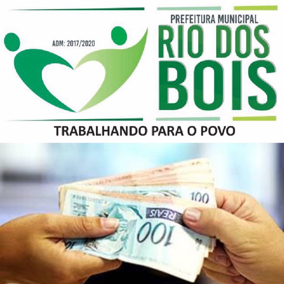 Prefeito Moacir Oliveira paga salário de servidores no dia 28 de Abril