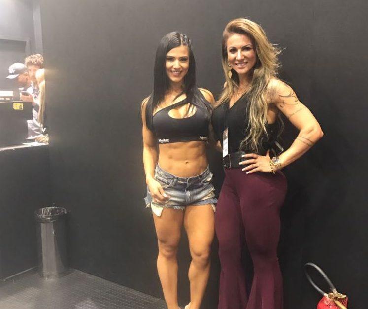 Atleta e empresária Elaine Ranzatto mostra no Arnold Classic que existe um mercado fitness promissor em Angola