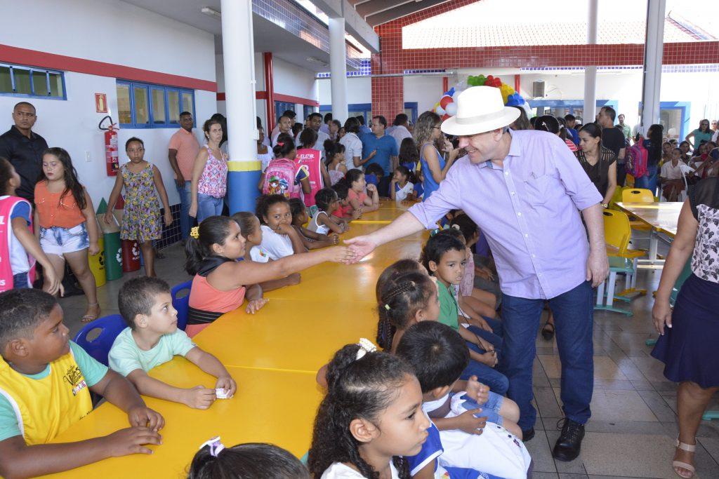 Creche-escola muda realidade de mais de 400 alunos em Araguaína