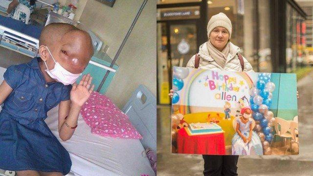 Instituição americana faz campanha para menina com câncer raro no rosto