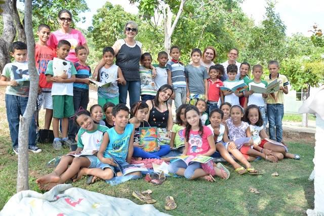 Alunos da Escola Pouso Alegre fazem Passeio Literário na Serra do Estrondo