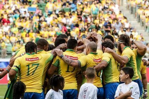 Rugbiers de agremiações do Vale do Paraíba apoiadas pelo Instituto CCR disputam partida contra o Paraguai nesta sexta (26), no Pacaembu