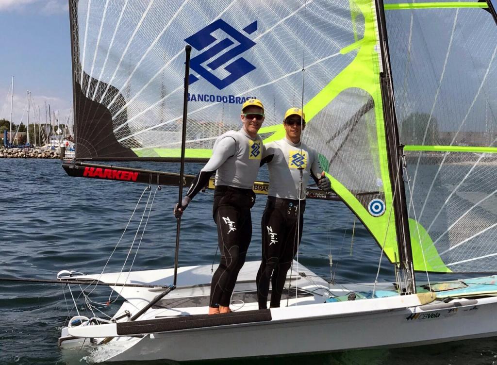 Scheidt e Borges entram na flotilha ouro da Semana de Vela de Kiel no top 6