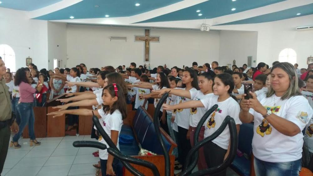 Mais de 700 alunos participaram da formatura do PROERD em Gurupi